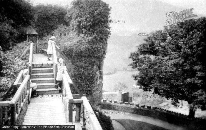 Abergavenny, The Castle Bridge 1914