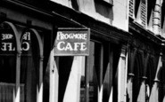 Abergavenny, The Frogmore Cafe c.1955
