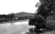 Abergavenny, The Little Skiridd And River Usk 1893