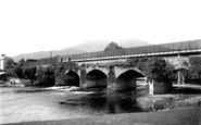 Abergavenny, Usk Bridge 1893