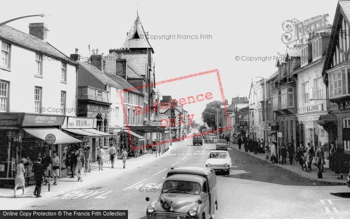 Abergele, Market Street c.1965
