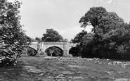 Abergorlech,  The Bridge 1950