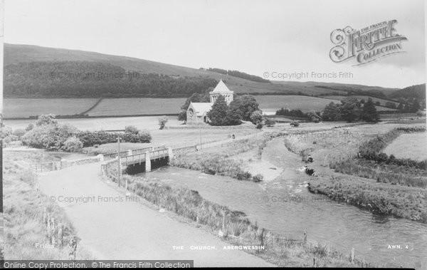 Abergwesyn, The Church c.1955