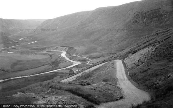 Abergwesyn, View From Hair Pin Bend, Devil's Staircase c.1955