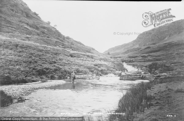 Abergwesyn, Wolf's Leap, Irfon Valley c.1955