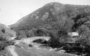 Abergwyngregyn, Aber Bridge 1896