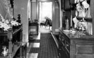 Abergwyngregyn, Aber Hotel, The Hall c.1960