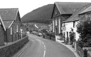 Abergynolwyn, The Cader Cafe 1961