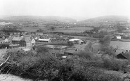 Aberkenfig, From Penlan c.1955