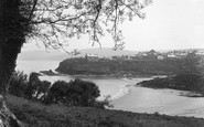 Aberporth, A Peep Through The Trees c.1955