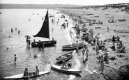 Abersoch, Beach c.1935