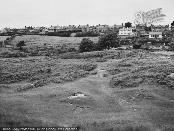 Abersoch, From The Downs c.1950