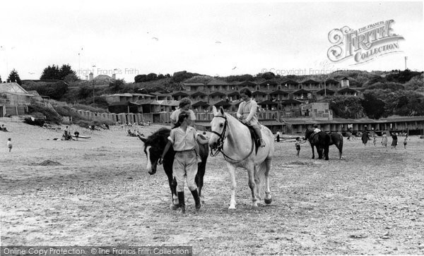 Abersoch, Riding On The Beach c.1955
