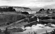 Abersoch, River Mouth And Llanbedrog Head c.1936