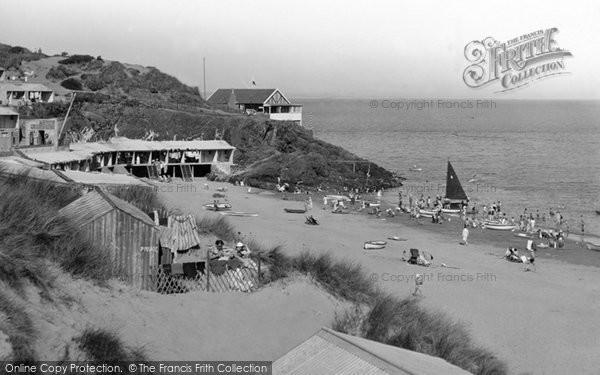Abersoch, The Beach 1936