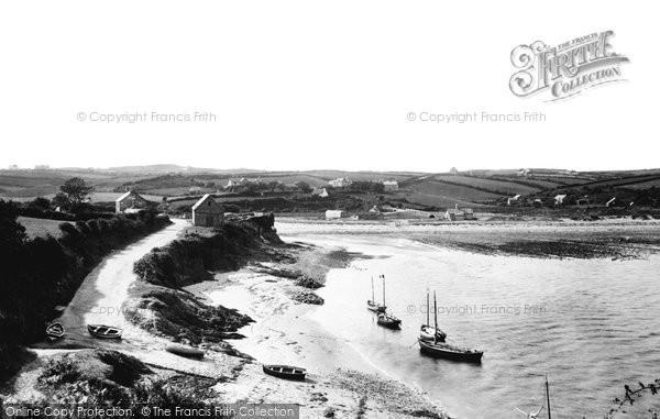 Abersoch, The Estuary 1894