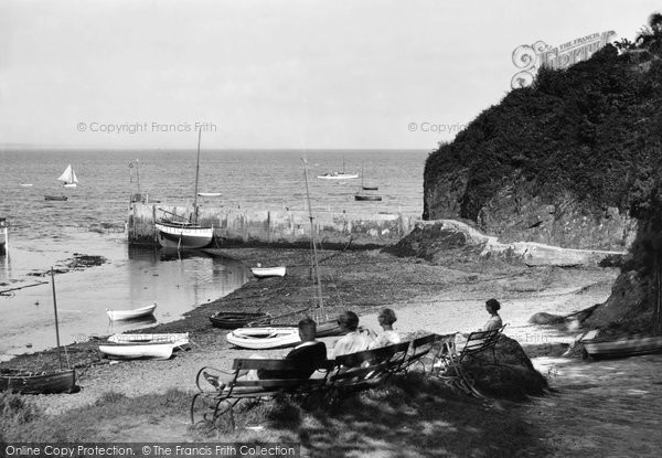Abersoch, The Harbour 1936