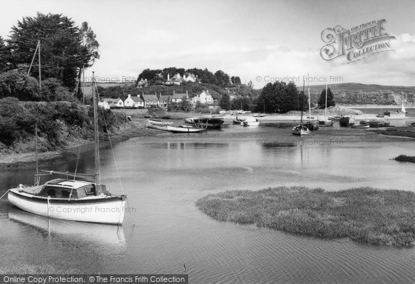 Abersoch, The Harbour c.1950