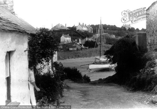 Abersoch, The Village c.1955