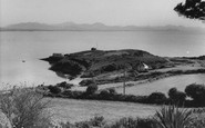 Abersoch, view from Porth Tocyn Hotel c1960