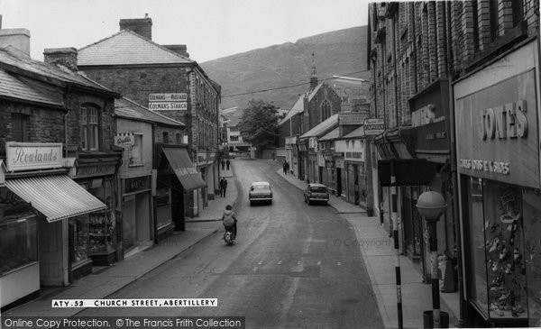 Abertillery, Church Street c.1965