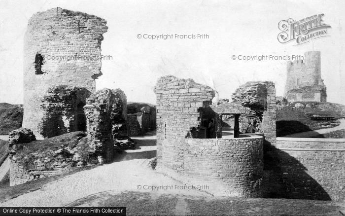 Aberystwyth, Castle 1906
