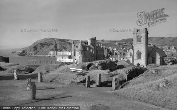 Aberystwyth, Castle And Grounds 1960