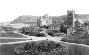 Aberystwyth, Castle Grounds 1906
