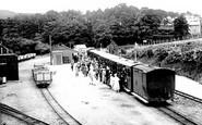 Aberystwyth, Devil's Bridge Station, Vale Of Rheidol Railway 1931
