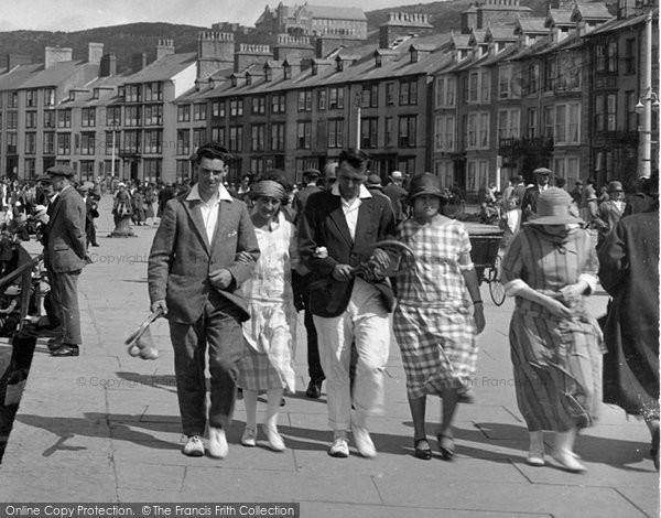 Aberystwyth, Fashion 1925