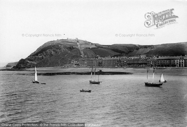 Aberystwyth, From The Pier 1897