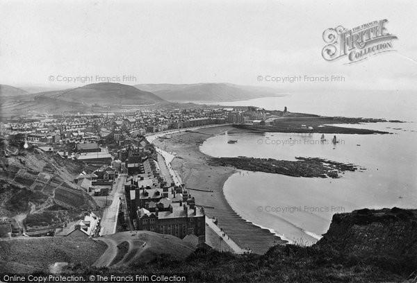 Aberystwyth, General View 1921