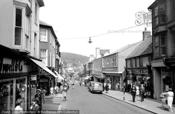Aberystwyth, Great Darkgate Street 1964
