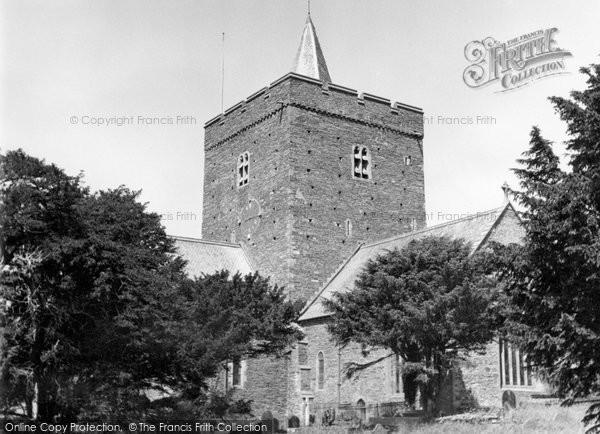 Aberystwyth, Llanbadarn Church 1949