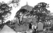 Aberystwyth, Llanbadarn Church c.1880