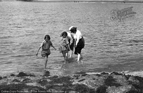 Aberystwyth, Paddling 1921