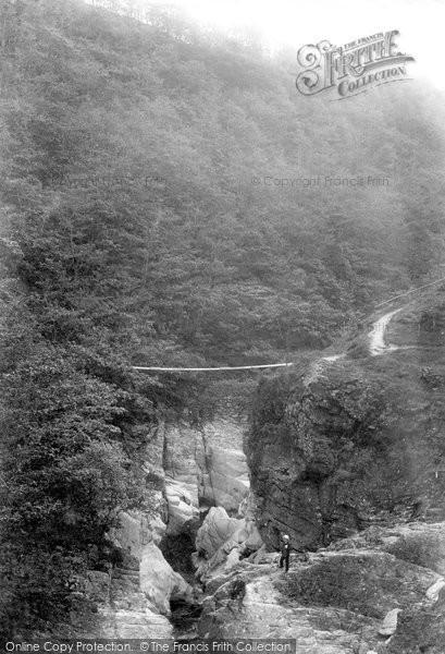 Aberystwyth, Parsons Bridge 1903