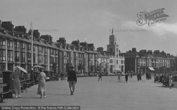 Aberystwyth, Promenade 1934