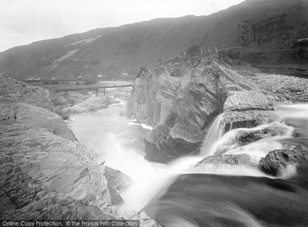 Aberystwyth, Rheidol Falls 1925