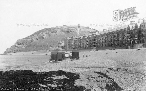 Aberystwyth, The Beach 1897