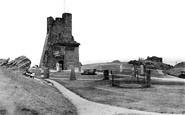 Aberystwyth, The Castle Grounds 1921