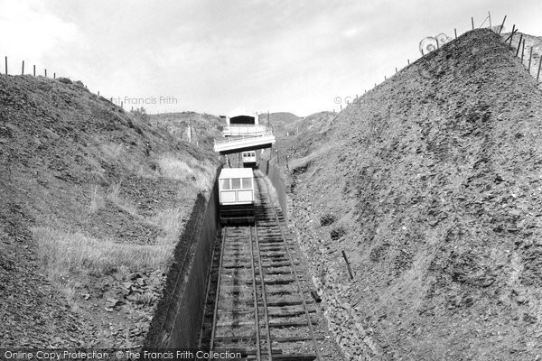 Aberystwyth, The Cliff Lift 1960