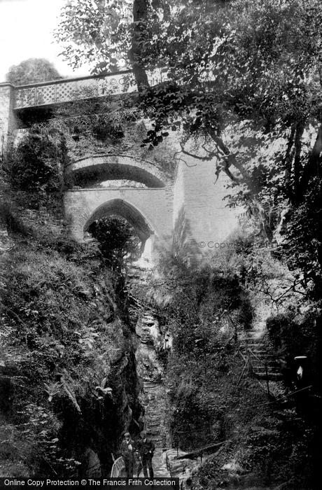 Aberystwyth, The Devils Bridge 1906