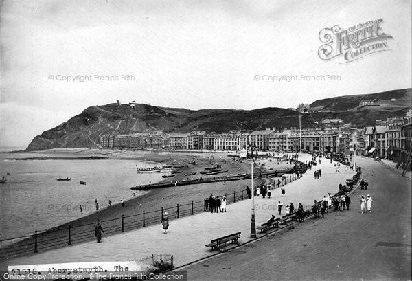 Aberystwyth, The Promenade 1921