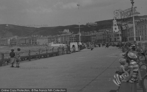 Aberystwyth, The Promenade 1952