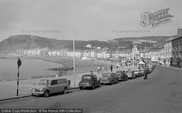Aberystwyth, The Promenade 1964
