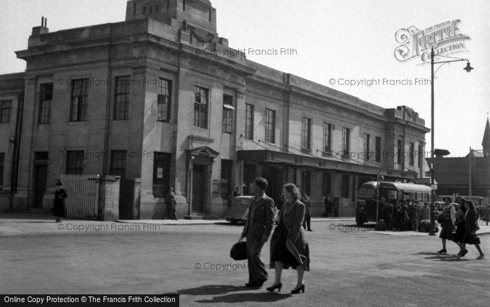 Aberystwyth, The Railway Station 1949