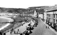 Aberystwyth, The Seafront 1949