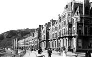 Aberystwyth, Victoria Promenade 1899
