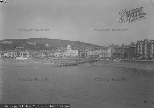 Aberystwyth, View From The Pier 1949